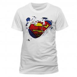 T-Shirt Superman Logo Déchiré