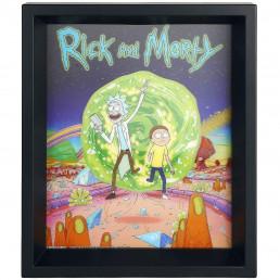 Cadre Rick & Morty Portail Effet Animé 3D