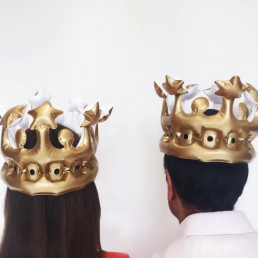 Couronne Gonflable Roi