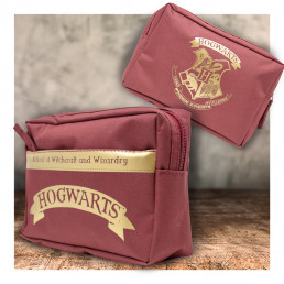 Trousse Harry Potter Poudlard Double Poche
