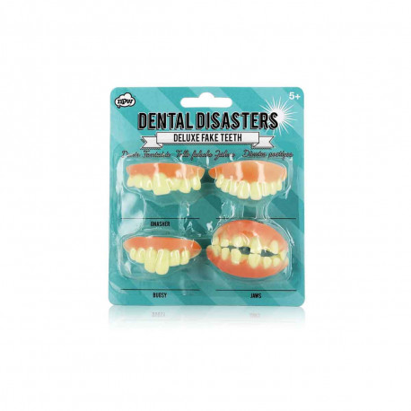 Dents de Déguisement - Lot de 4