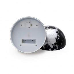 Globe Terrestre Noir Rotatif 360°