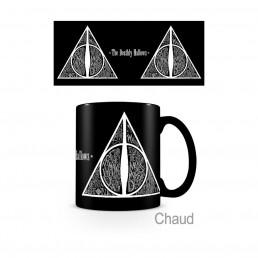 Mug Thermoréactif Noir Harry Potter Les Reliques de la Mort