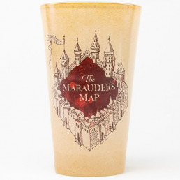 Maxi Verre Harry Potter Carte du Maraudeur