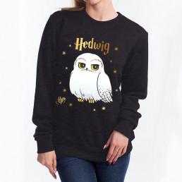Sweatshirt Harry Potter Hedwige Etoiles