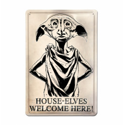 Plaque Métallique 3D Harry Potter - Dobby