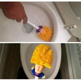 Brosse de Toilettes Donald Trump