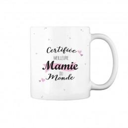 Mug Certifiée Meilleure Mamie à Personnaliser