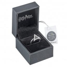 Bague Harry Potter Reliques de la Mort Argent et Cristaux Swarovski