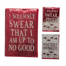 Carnet de Notes Harry Potter Sequins Maraudeur