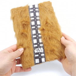 Carnet de Notes Star Wars Chewbacca Premium Fourrure