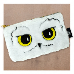 Trousse Harry Potter Chouette Hedwige Fourrure
