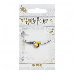 Badge Harry Potter Vif d'Or