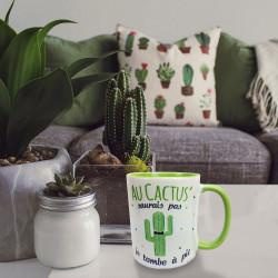 Mug Cactus Je Tombe à Pic