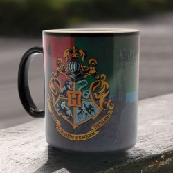 Mug Thermoréactif Harry Potter Blason Poudlard