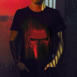 T-Shirt Kylo Ren Star Wars Lignes Rouges
