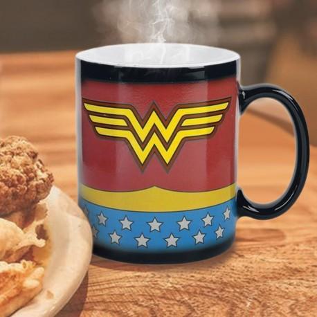 Mug Thermoréactif Wonder Woman Costume