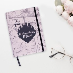 Carnet de Notes Harry Potter Carte du Maraudeur