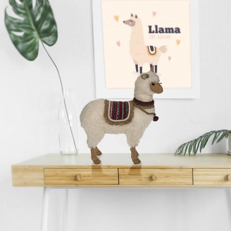 Maxi Lama en Trois Dimensions