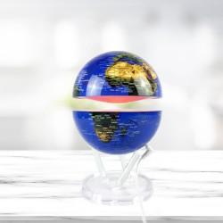 Globe Terrestre Lumineux Noyau en Lévitation