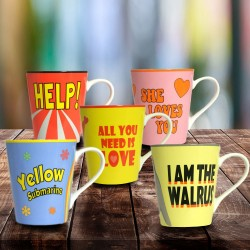 Mug Beatles Paroles Lennon & McCartney