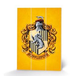 Panneau en Bois Harry Potter Maisons Poudlard