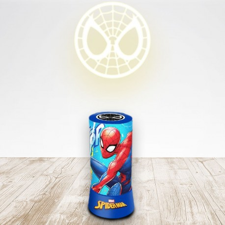 Lampe Projection Spiderman Marvel