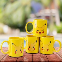 Set de 4 Tasses à Expresso Pikachu Pokemon