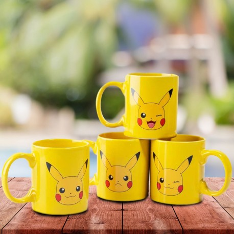 Set de 4 Tasses à Expresso Pikachu Pokemon