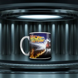 Mug Delorean Retour vers le Futur