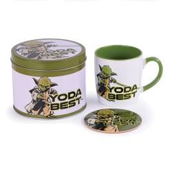 Boîte Cadeau Yoda The Mandalorian avec Mug et Sous-Verre