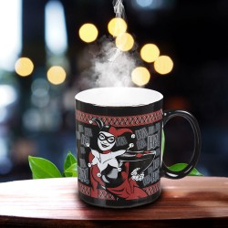Mug Thermoréactif Harley Quinn Psychotic