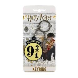 Porte-Clés Harry Potter Quai 9 3/4 avec Breloques