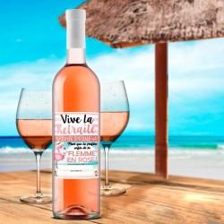 Bouteille de Rosé Cuvée Spéciale de la Retraite