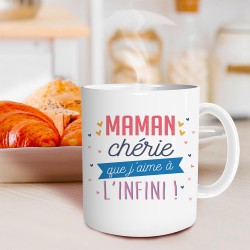 Mug Maman Chérie que j'aime à l'infini