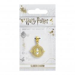 Pendentif Charm Harry Potter Doré Retourneur de Temps