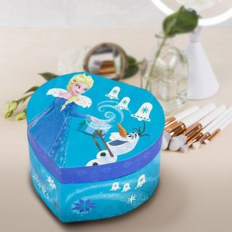 Boîte à Bijoux La Reine des Neiges Coeur Bleu