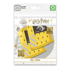 Masque Harry Potter Maisons Poudlard - Lot de 2