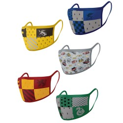 Masque Harry Potter Maisons Poudlard - Lot de 2