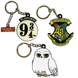 Porte-Clés Harry Potter Geek en Caoutchouc