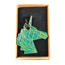 Collier Tête Licorne