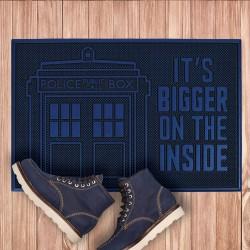 Paillasson Caoutchouc Tardis Dr Who - It's Bigger on the Inside