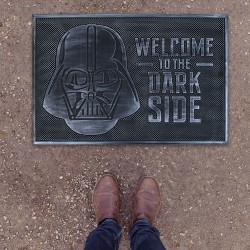 Paillasson Caoutchouc Dark Vador Star Wars - Welcome to the Dark Side