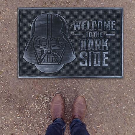 Paillasson Caoutchouc Dark Vador Star Wars - Welcome to the Dark Side