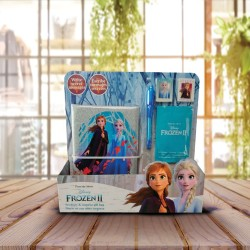Coffret La Reine des Neiges 2 avec Carnet Secret, Stylo et Set Papeterie