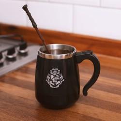 Tasse Harry Potter Baguette avec Mélangeur Automatique