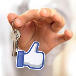 Porte-Clés Facebook I Like