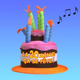 Chapeau Musical Anniversaire