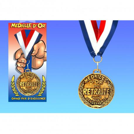 Médaille d'Or de la Retraite