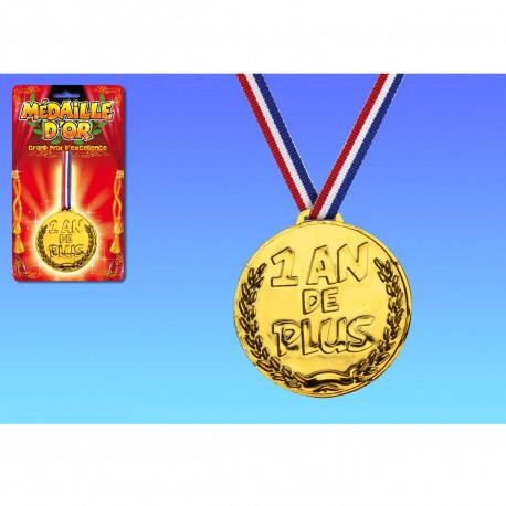 Médaille d'Or Un An De Plus